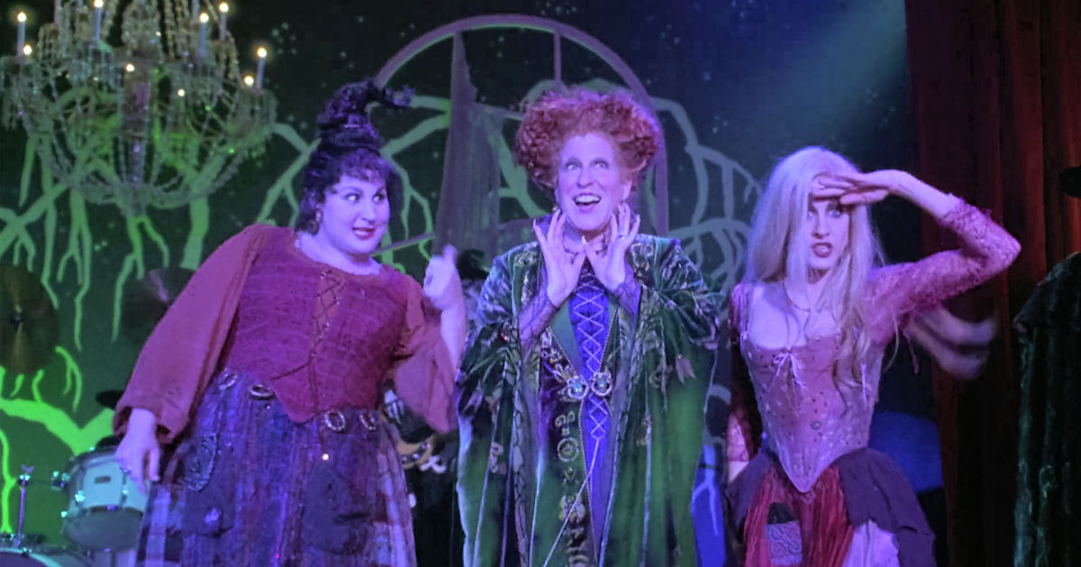 13 Nights of Halloween - 12 Times The Sanderson Sisters in Hocus Pocus Were Hilarious - 1013