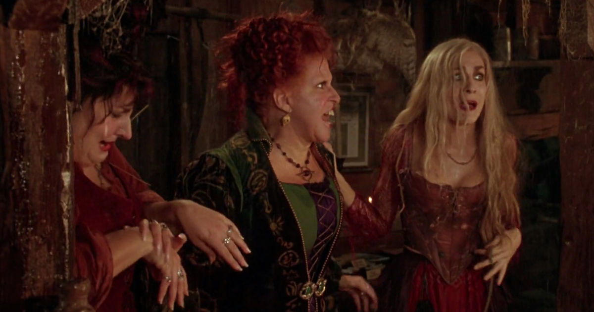 31 Nights of Halloween - 12 Times The Sanderson Sisters in Hocus Pocus Were Hilarious - 1002