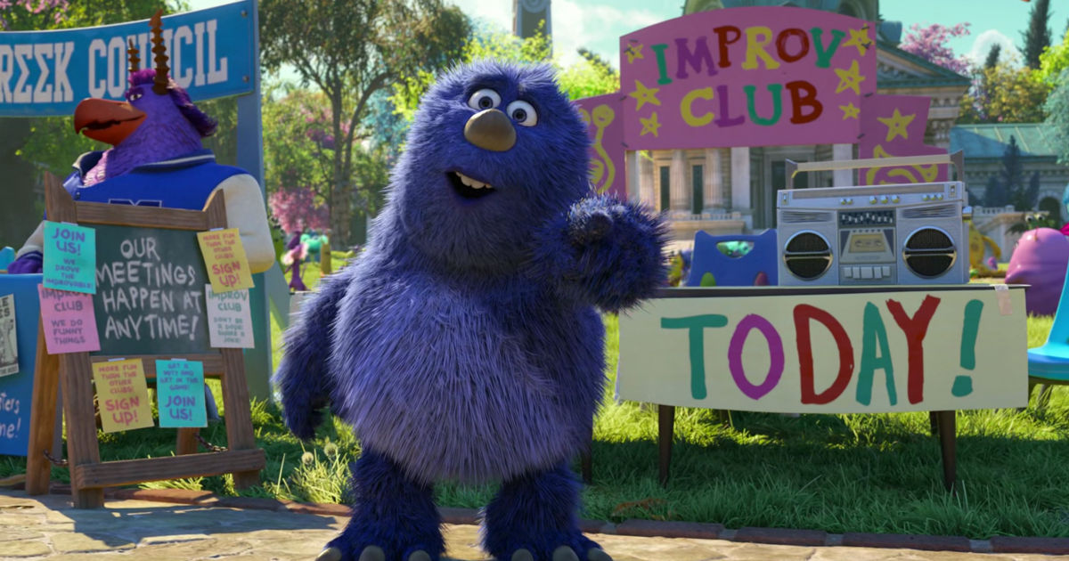 13 Nights of Halloween - 25 Ways Monsters University Perfectly Sums Up Your College Experience! - 1008