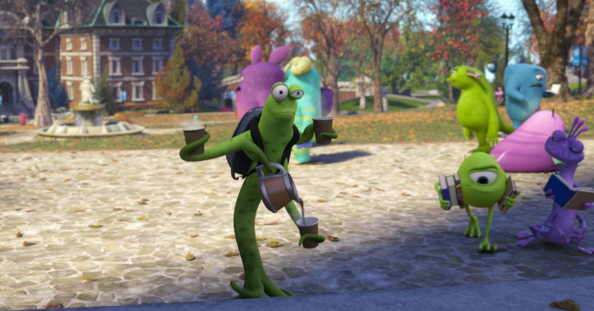 13 Nights of Halloween - 25 Ways Monsters University Perfectly Sums Up Your College Experience! - 1012