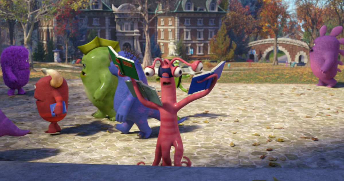 13 Nights of Halloween - 25 Ways Monsters University Perfectly Sums Up Your College Experience! - 1011