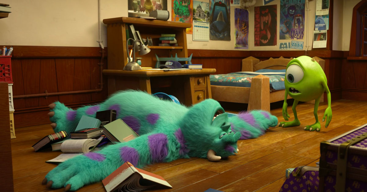 13 Nights of Halloween - 25 Ways Monsters University Perfectly Sums Up Your College Experience! - 1010