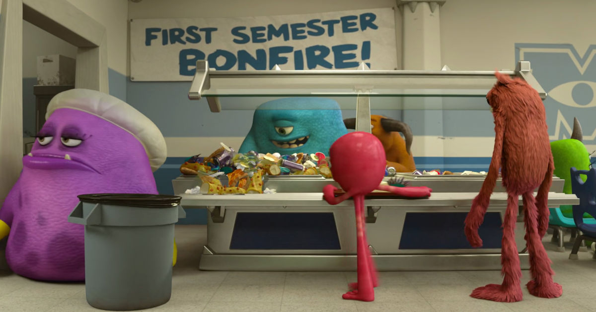 13 Nights of Halloween - 25 Ways Monsters University Perfectly Sums Up Your College Experience! - 1018