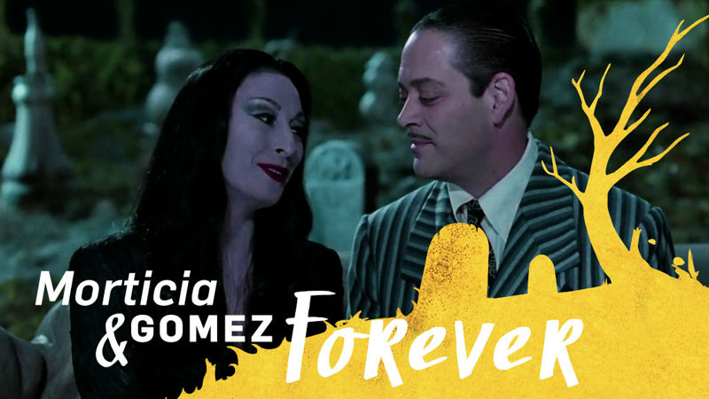 13 Nights of Halloween - 12 Reasons Why Morticia and Gomez from the Addams Family Are #RelationshipGoals! - Up Next Thumb