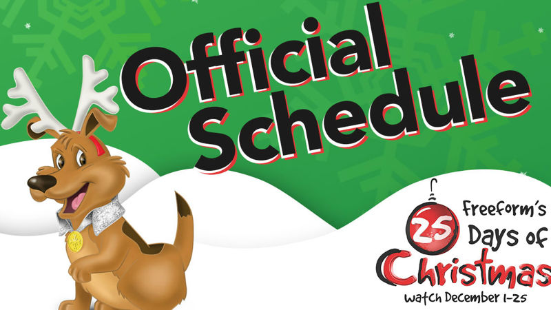 25 Days of Christmas - Ready For 25 Days Of Christmas? Check Out The Official Schedule Right Here! - Thumb