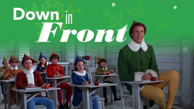 25 Days of Christmas - Elf Totally Understands The Pros And Cons Of Being The Tallest Kid In The Class! - Thumb