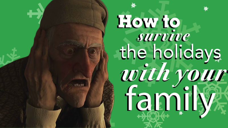 25 Days of Christmas - 10 Essential Tips On Surviving The Holidays With Your Family! - Thumb