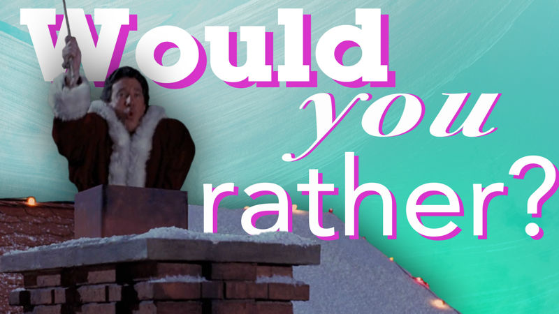 25 Days of Christmas - Are You Ready To Play 'Would You Rather', The Santa Clause Edition? - Thumb
