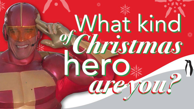 25 Days of Christmas - What Kind Of Christmas Hero Are You? Take The Quiz To Find Out! - Thumb