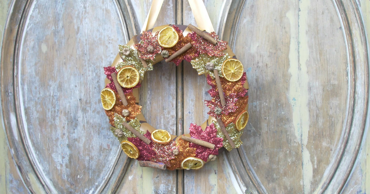 25 Days of Christmas - Get Ready For Thanksgiving With This Amazing DIY Wreath! - 1008