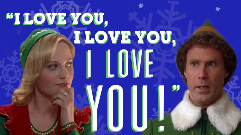 25 Days of Christmas - 14 Ways To Flirt With Your Crush This Christmas, According To Buddy The Elf - Up Next Thumb