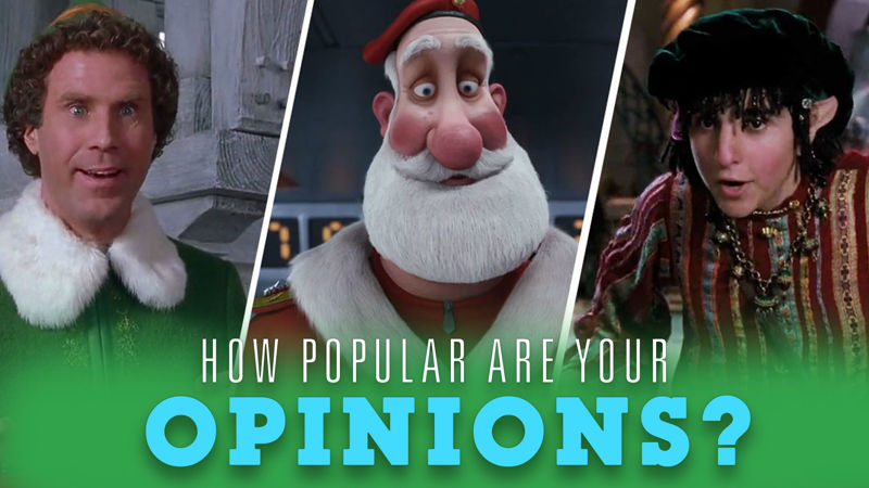 25 Days of Christmas - How Popular Are Your Christmas Movie Opinions? Find Out Now!  - Thumb