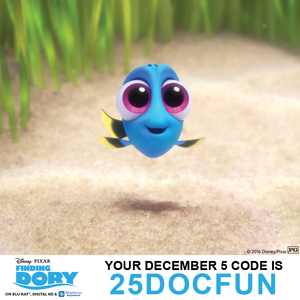 25 Days of Christmas - 12/5: Find Out Your Disney Movie Rewards Magic Code For The Day! - 1001