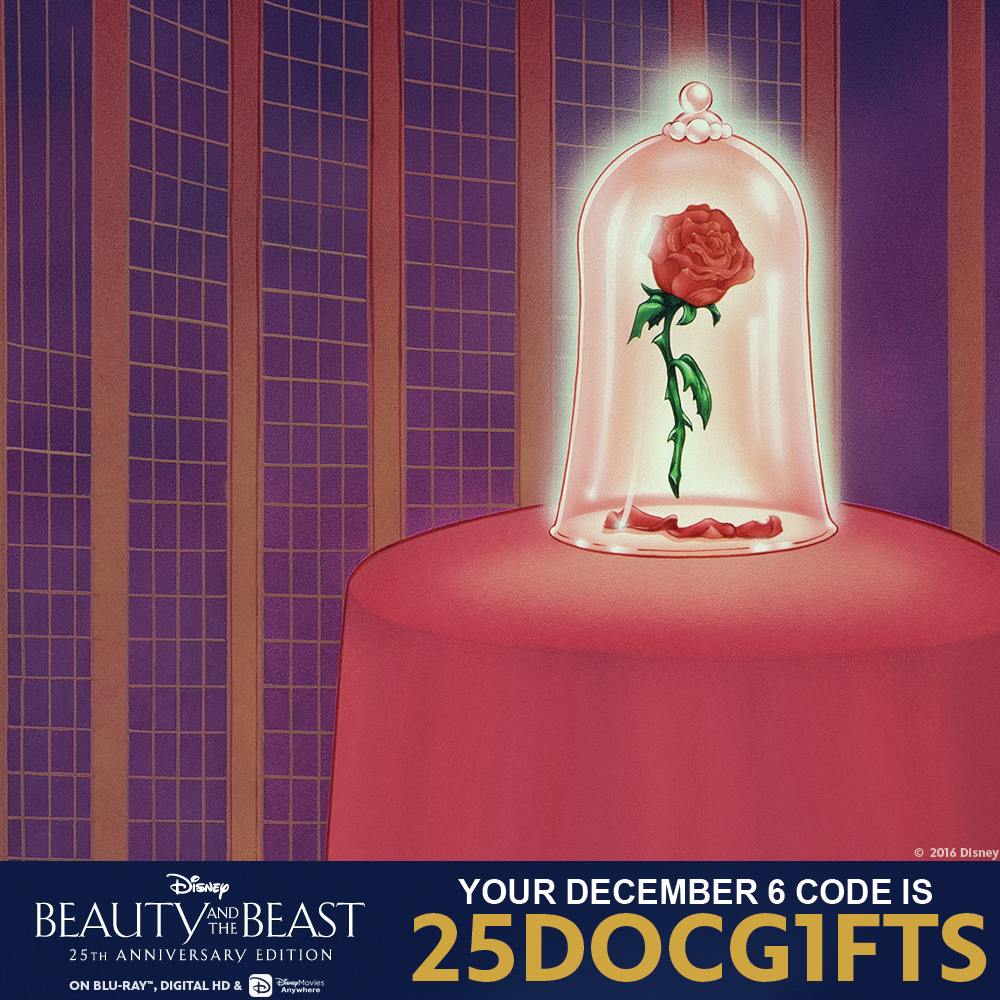 25 Days of Christmas - 12/6: Find Out Your Disney Movie Rewards Magic Code For The Day! - 1001