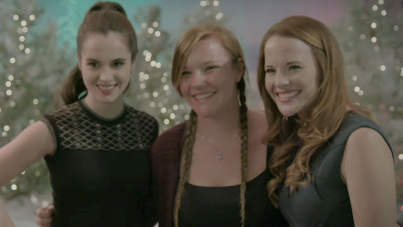 25 Days of Christmas - These Switched At Birth Stars Did A Pop Up Santa And Surprised Some Very Lucky Fans! - Thumb