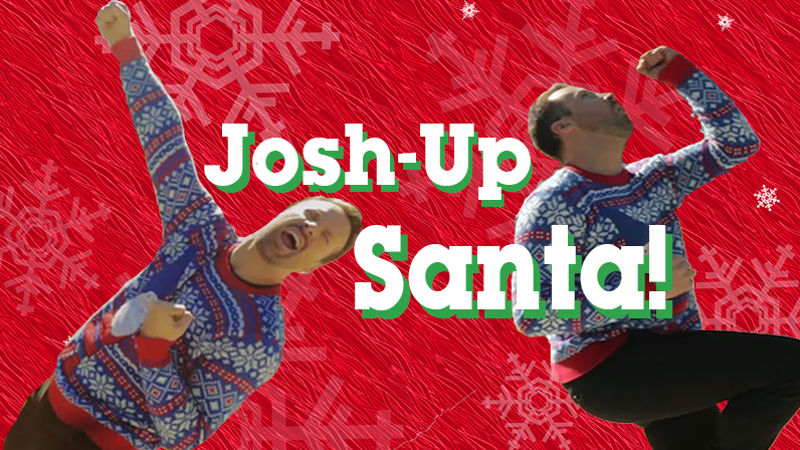 25 Days of Christmas - Only Scrooges Won't Laugh at Josh Horner's Hilarious Pop Up Santa! - Thumb