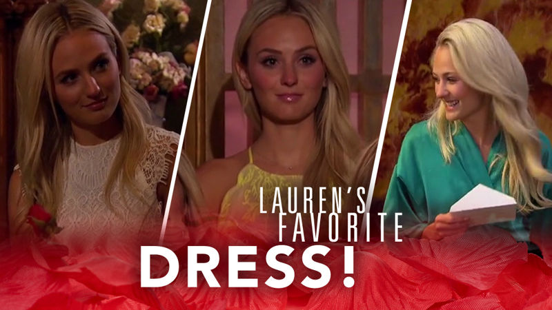 Ben & Lauren: Happily Ever After? - Exclusive: Be The First To Find Out Which Dress Was Lauren's Favorite On The Bachelor - Thumb