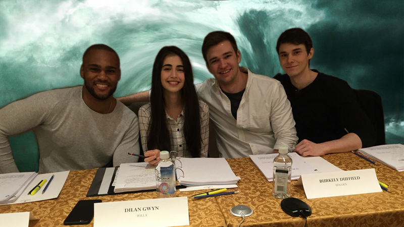 Beyond - Get An Exclusive Look Behind The Scenes Of A Beyond Episode Table Reading! - Thumb