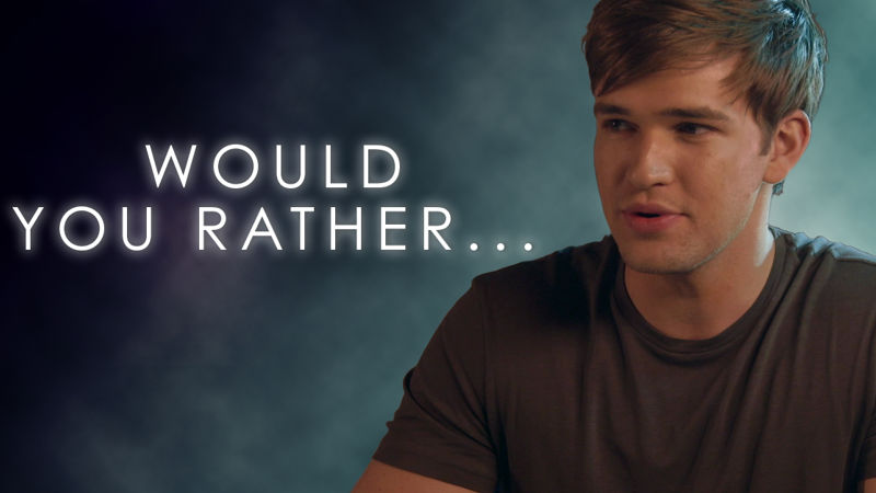 Beyond - Would Burkely Rather Be A Hero Or A Villain? Watch This Video To Find Out!  - Thumb