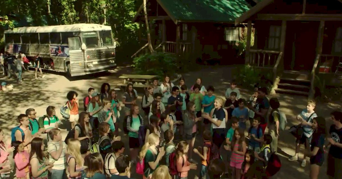 Dead of Summer - Watch Dead Of Summer Episode 2 Right Now! Who's That Man Lurking In The Woods...? - 1003