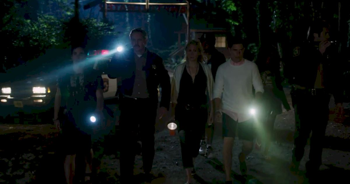 Dead of Summer - Watch Dead Of Summer Episode 2 Right Now! Who's That Man Lurking In The Woods...? - 1007