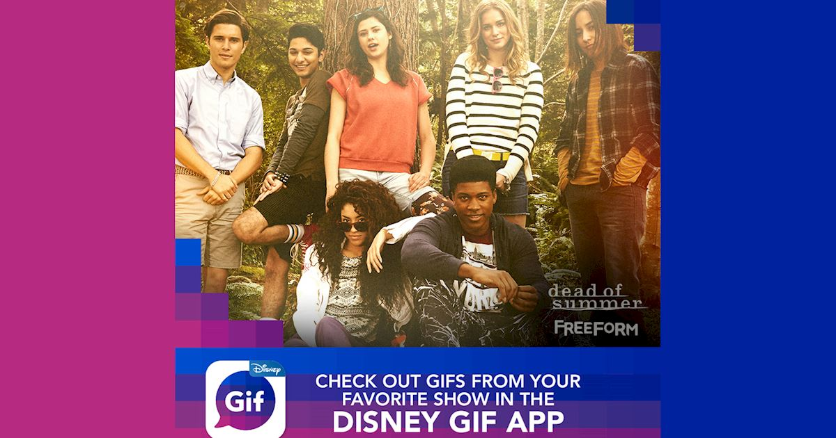 Dead of Summer - Check Out The New Disney GIF App Now! - 1003