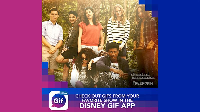 Dead of Summer - Check Out The New Disney GIF App Now! - Thumb