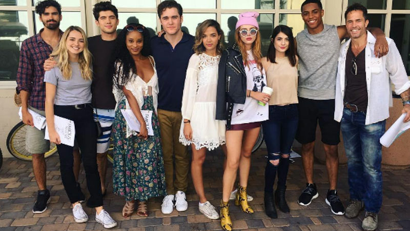 Famous in Love - Check Out These Exciting BTS Cast Moments from The Famous In Love Set This Week! - Thumb