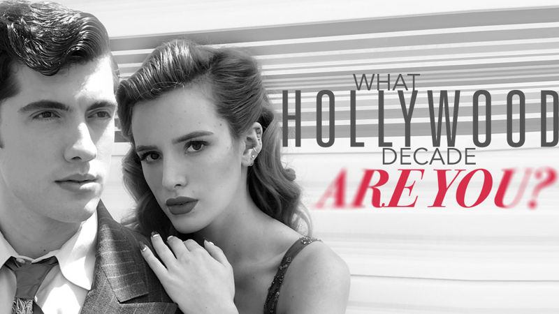 Famous in Love - Take This Quiz To Find Out Which Hollywood Decade You Would Star In!  - Thumb