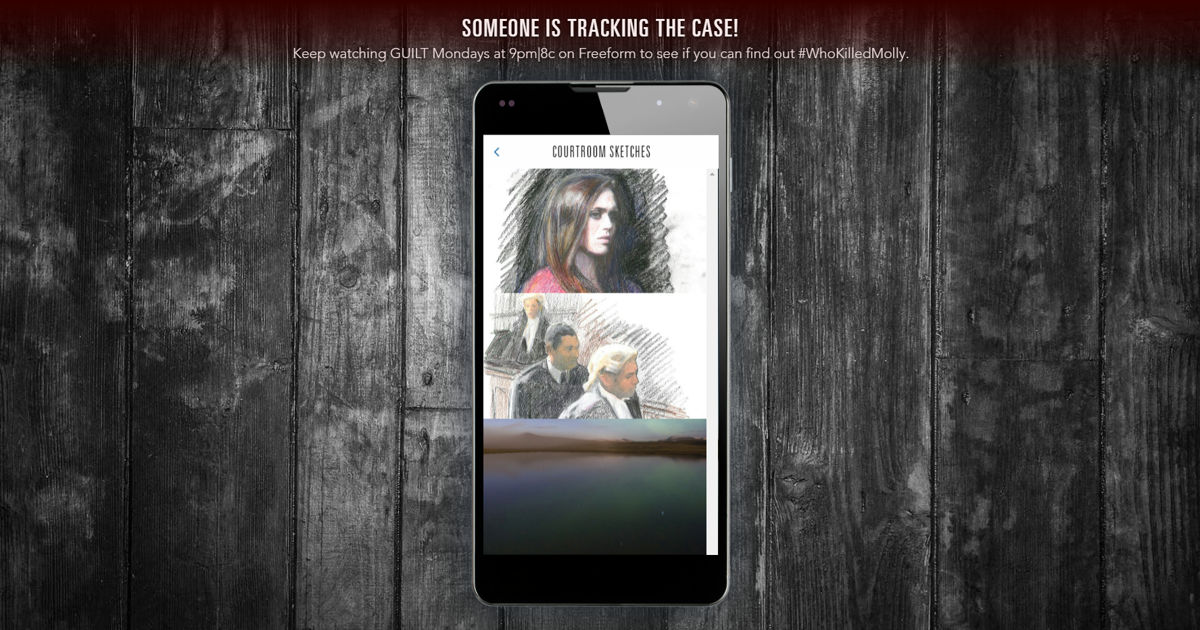 Guilt - Can't Wait Until The Season Finale? Check Out Guilt's Mystery Phone! - 1004