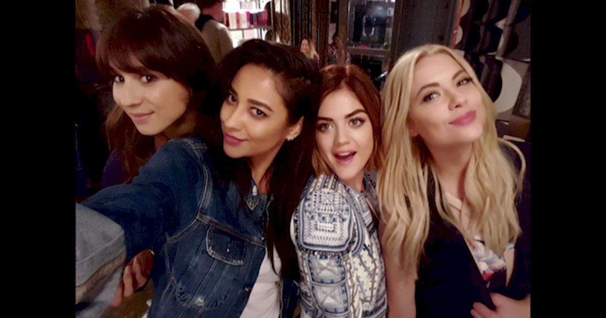 Pretty Little Liars - 17 Times The PLL Girls Were All Of Us Going Through A Break Up - 1017
