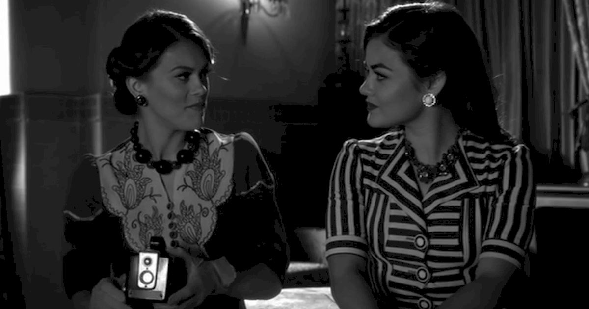 Pretty Little Liars - 12 Reasons Life Would Be Better In Film Noir - 1008