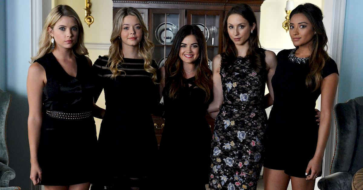 Pretty Little Liars - #TBT! Flashback To Season 5 With These Behind The Scenes Photos! - 1003