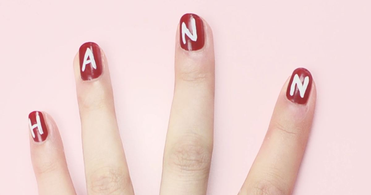 Pretty Little Liars - Help Us #SaveHanna With This Incredible Nail Art Tutorial! - 1012