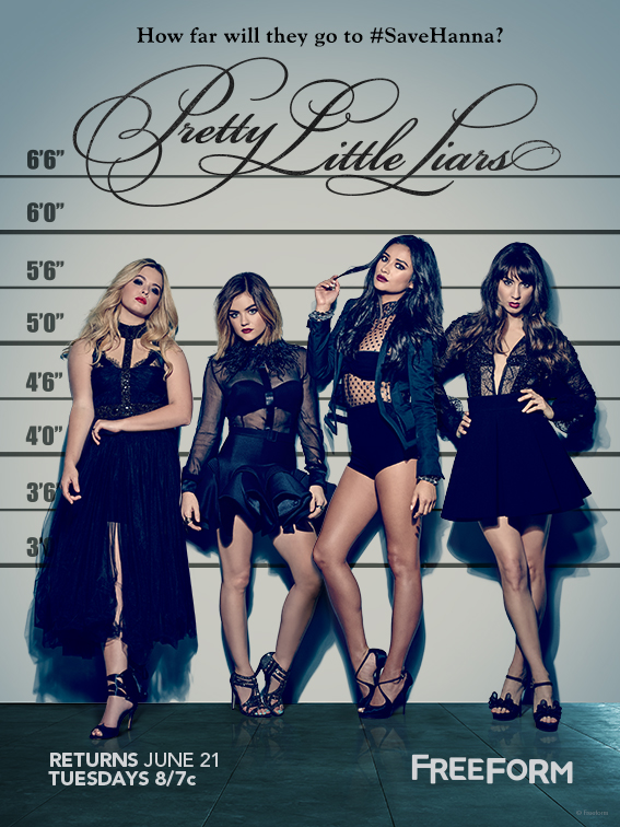 Pretty Little Liars - Have You Seen The Brand New Key Art For PLL Season 7?! We're Down One Liar! - 1001