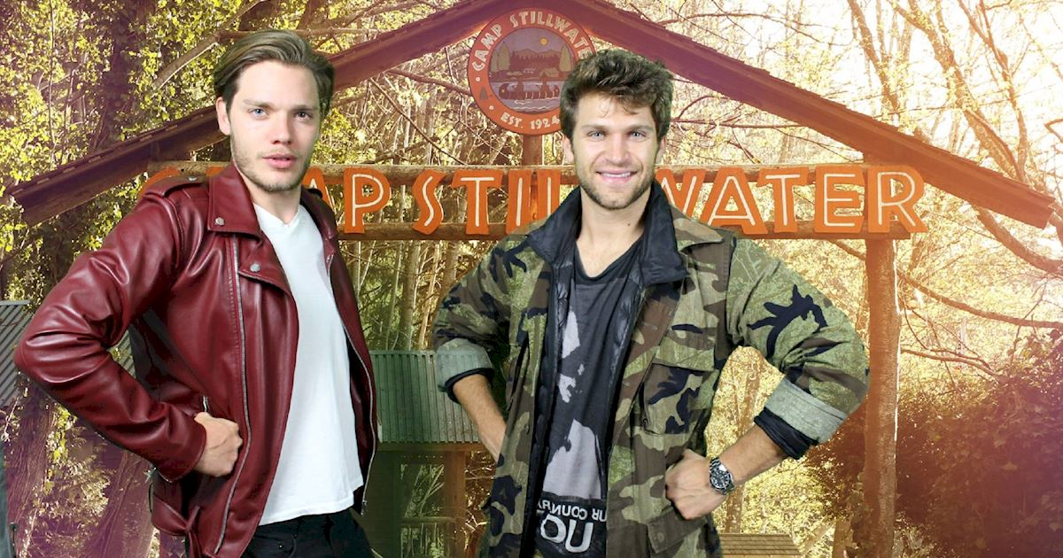 Pretty Little Liars - Want To See Keegan Allen And Dominic Sherwood Being Spooked? - 1001