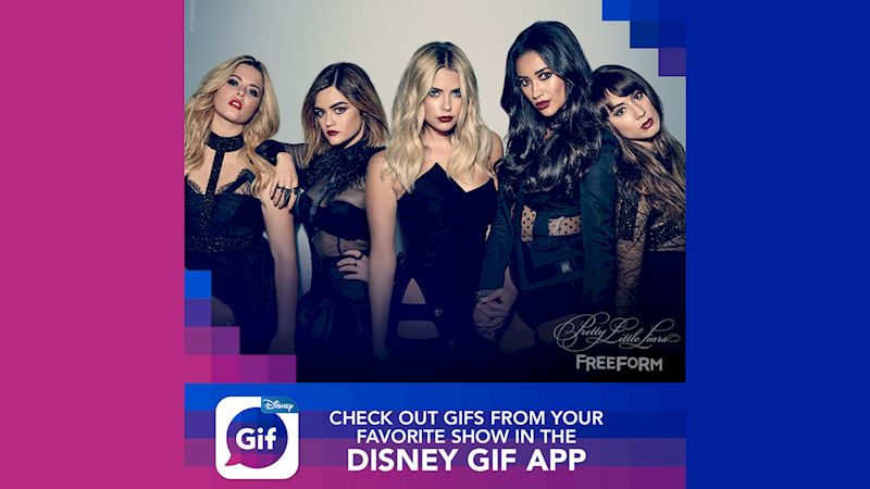Pretty Little Liars - We Couldn't Be More Excited About The New Disney GIF App! - Thumb
