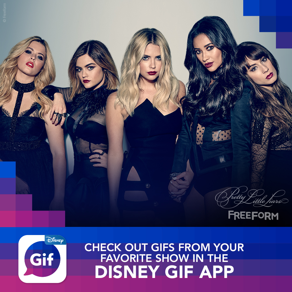 Pretty Little Liars - We Couldn't Be More Excited About The New Disney GIF App! - 1006