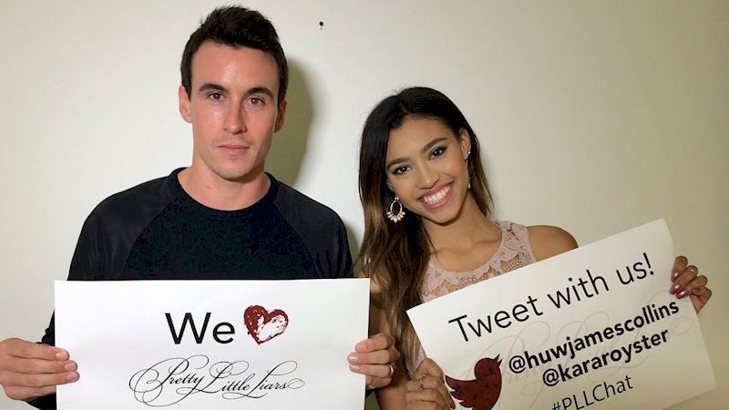 Pretty Little Liars - Watch These Exclusive Messages from Huw Collins And Kara Royster! - Thumb