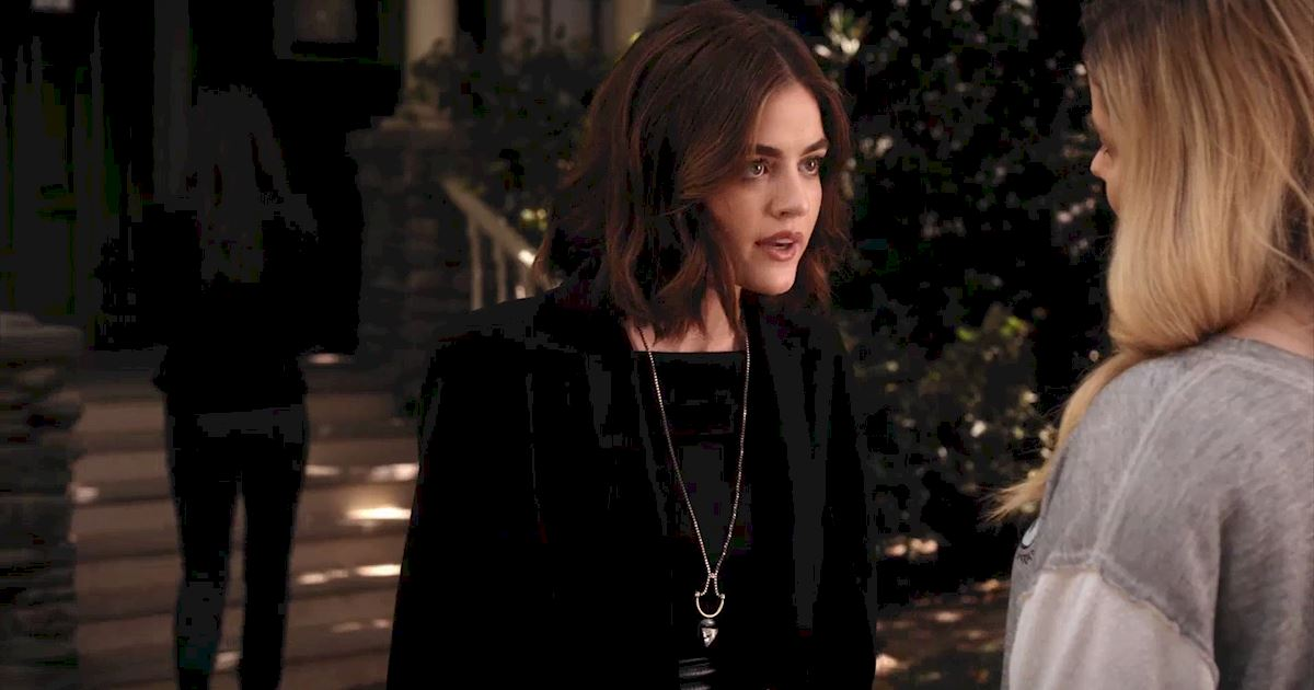 Pretty Little Liars - Exclusive Sneak Peek! Aria Awaits Alison's Return But Ali's Not Alone! - 1008