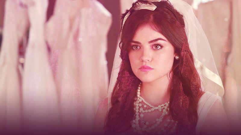 Pretty Little Liars - Think You Could Be Aria's Maid Of Honor? Plan Ezria's Dream Wedding To Find Out!  - Thumb