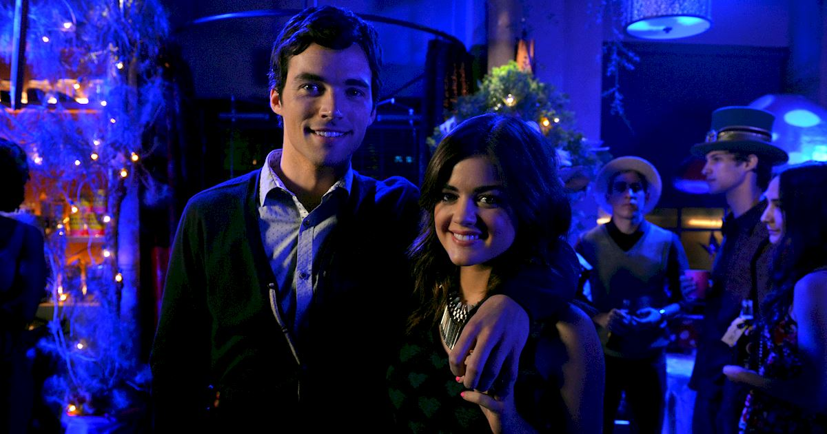 Pretty Little Liars - Ready For The Toughest Question Ever? Who Do You Love More... Lucian Or Ezria? - 1004