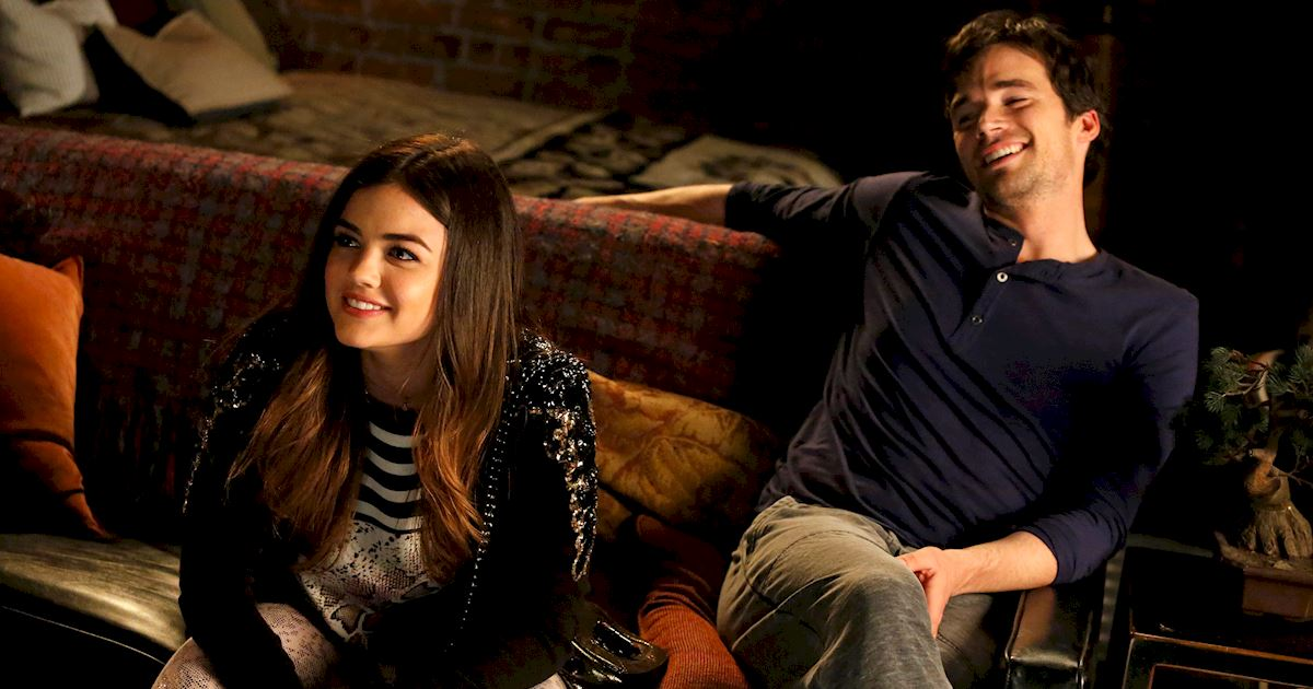 Pretty Little Liars - Ready For The Toughest Question Ever? Who Do You Love More... Lucian Or Ezria? - 1006
