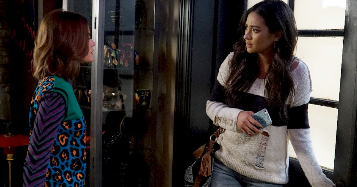 Pretty Little Liars - We Love Emily's Monochrome Style In Episode 6 Of PLL - 1002