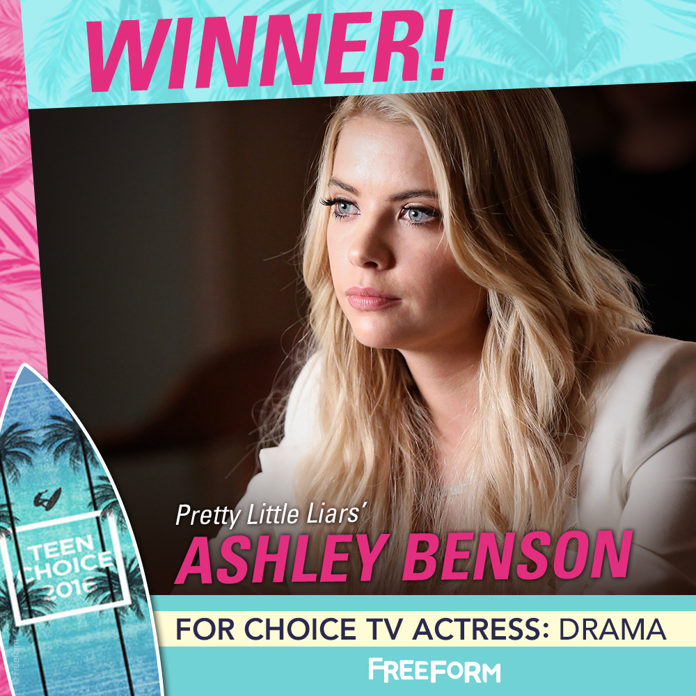 Pretty Little Liars - PLL Totally Slayed At The Teen Choice Awards! Thank You PLL Fandom! - 1003