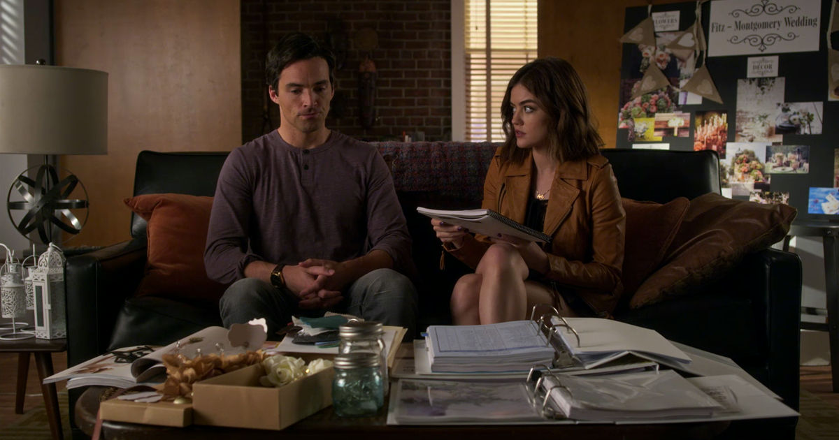 Pretty Little Liars - Nicole Isn't Coming Home So Can Ezria Just Say 'I Do' Already?! - 1011