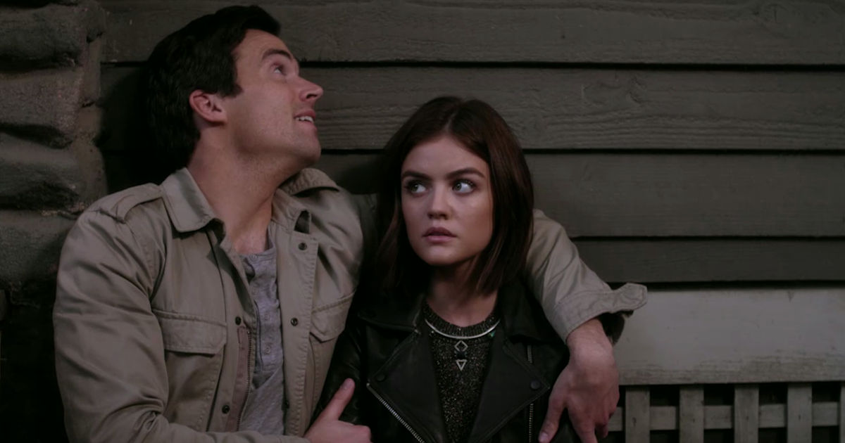 Pretty Little Liars - Nicole Isn't Coming Home So Can Ezria Just Say 'I Do' Already?! - 1002