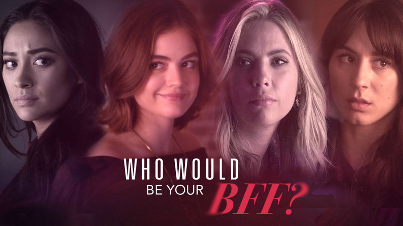 Pretty Little Liars - Ever Wondered Which Pretty Little Liar Would Be Your Ultimate BFF? Find Out Now! - Thumb
