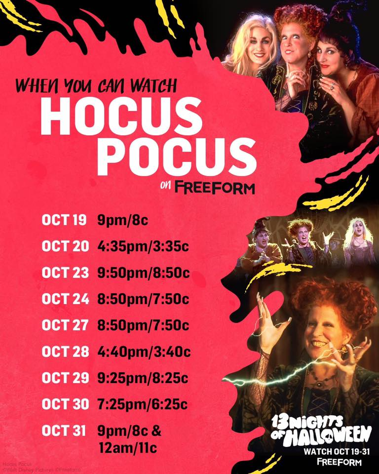 Pretty Little Liars - See Which PLL Star Has A Crazy Connection To Our Fave Halloween Movie, Hocus Pocus! - 1005