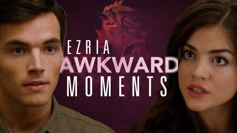 Pretty Little Liars - Cringe Alert! 7 Totally Awkward Ezria Moments From Episode 18 Of PLL - Thumb